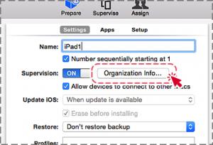 Organization Info...