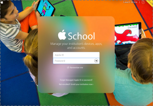Apple School Manager Login