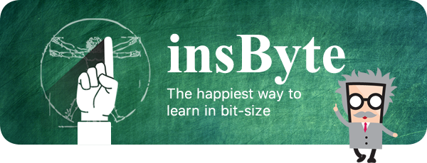 insByte : The happiest way to learn in bit-size